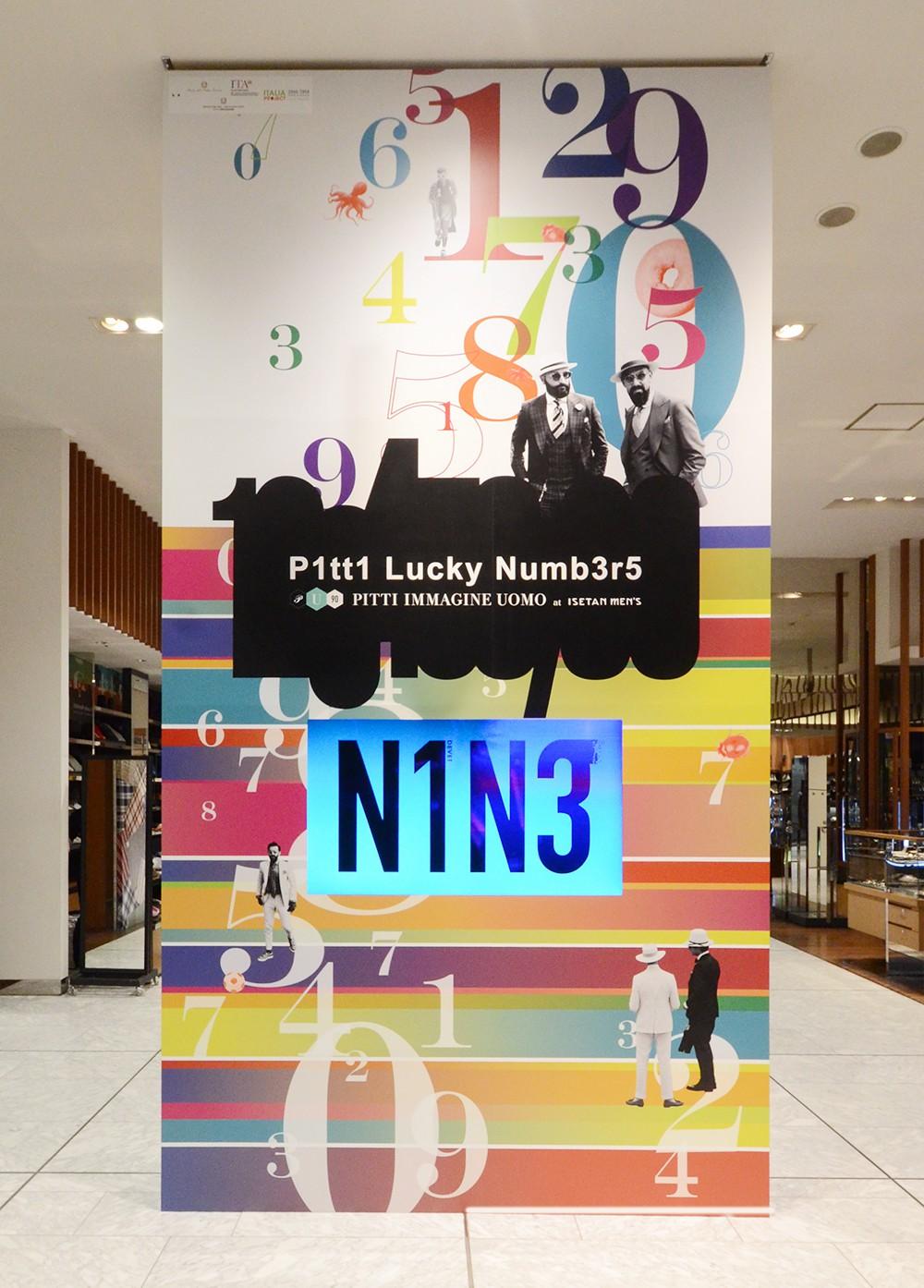 Lucky Num3r5(Pitti Immagine Uomo 86)
